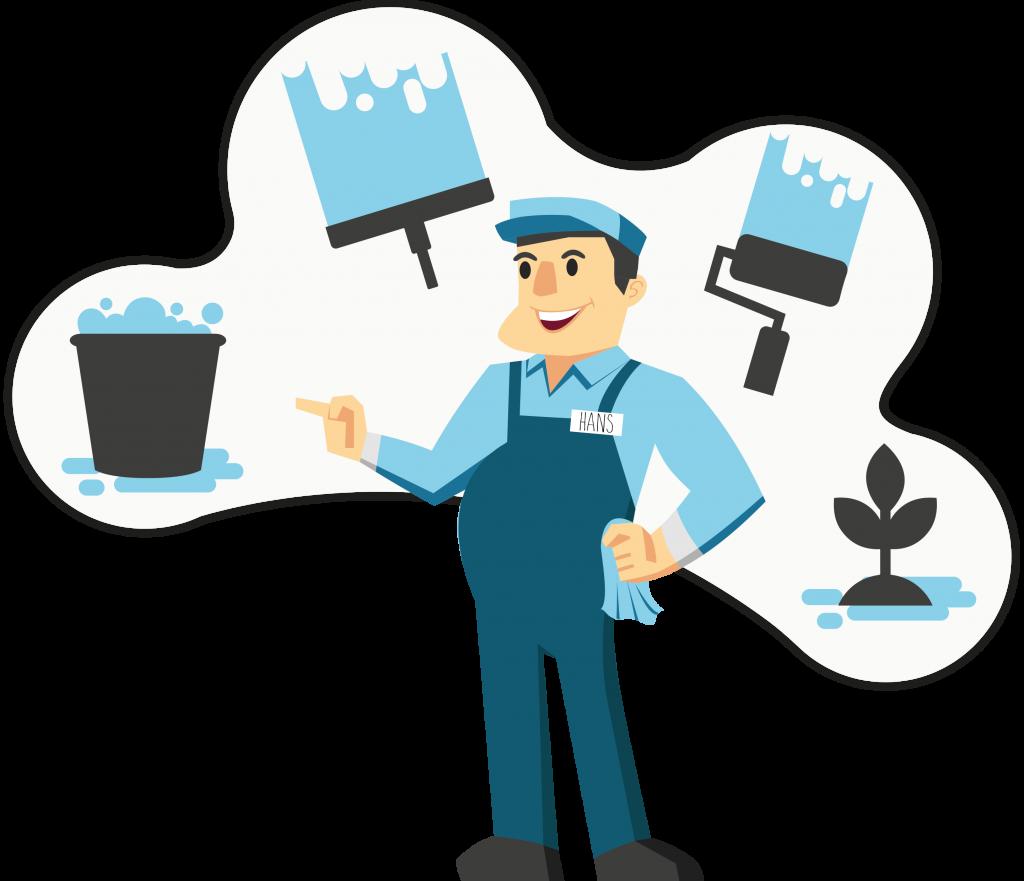 De Hoogmeer - service illustratie